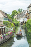 Weinig Venetië in Colmar, Frankrijk Royalty-vrije Stock Foto