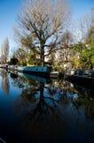 Weinig Venetië is een zeer bijzondere plaats in Londen langs Regent ` s royalty-vrije stock afbeelding
