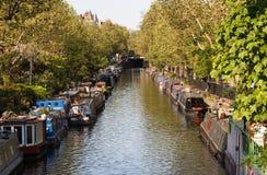 Weinig Venetië in Londen Stock Foto