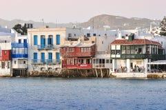 Weinig Venetië, Mykonos, Griekenland Stock Foto's