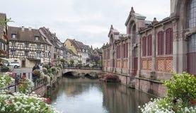 Weinig Venetië in Colmar Royalty-vrije Stock Afbeelding