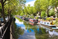 Weinig Venetië, Londen Stock Afbeeldingen