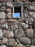 Weinig venster royalty-vrije stock afbeeldingen