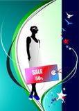 Weinig verkoopbeelden Vectorillustratie voor ontwerpers , vector illustratie