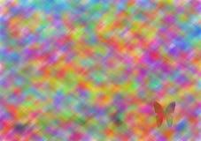 Weinig vlinder royalty-vrije illustratie