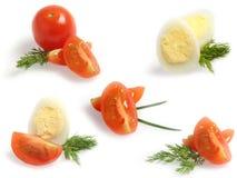 Weinig Voedsel Aplications Royalty-vrije Stock Fotografie