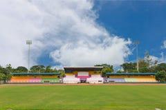 Weinig voetbalstadion Royalty-vrije Stock Foto's