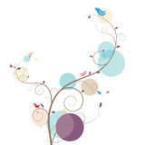 Weinig vogel royalty-vrije illustratie