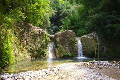 Weinig waterval Stock Foto
