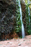 Weinig waterval Royalty-vrije Stock Foto's