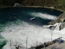 Weinig waterval in Oostenrijk Royalty-vrije Stock Foto