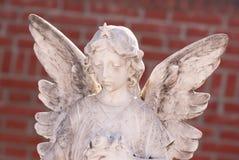 Weinig witte engel Royalty-vrije Stock Fotografie