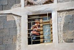 Weinig yemeni jongen Royalty-vrije Stock Afbeeldingen