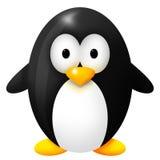 Weinig zwarte pinguin Stock Afbeeldingen