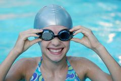 Weinig Zwemmer Royalty-vrije Stock Afbeelding