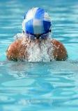 Weinig zwemmer Stock Afbeelding