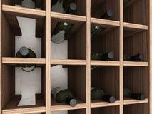 Weinkabinett Stockfotos