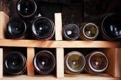 Weinkeller Stockbild