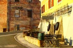 Weinkeller, Svetinje, Slowenien Stockbilder