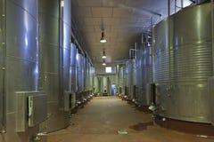 Weinkellerei Stockbild
