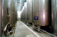 Weinkellerei Stockfotos