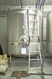 Weinkellerei-Einzelner Bottich lizenzfreies stockbild