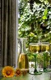 Weinkellerei-Fenster Lizenzfreies Stockbild