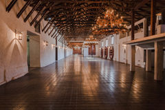 Weinkellerei-großer Raum Stockfoto