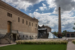 Weinkellerei in Mendoza Argentinien Lizenzfreies Stockbild