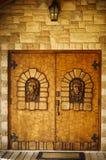 Weinkellerei ` s Tür in Newmarket, Kanada Stockfotografie