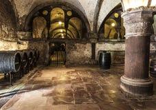 Weinkellerei von Kloster Eberbach-eltville morgens Rhein Rheingau Deutschem Lizenzfreies Stockbild