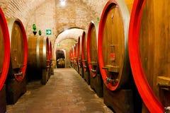Weinkellereien in Montepulciano lizenzfreies stockfoto