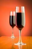 Weinkonzept mit Hintergrund Lizenzfreie Stockbilder
