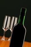 Weinkonzept mit Steigung Lizenzfreies Stockbild
