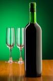 Weinkonzept mit Steigung Stockbilder