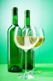 Weinkonzept mit Steigung Stockbild