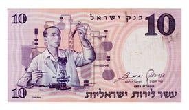 Weinlese 10-Pfund-Rechnung Lizenzfreie Stockbilder