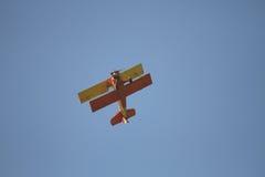 Weinlese Aircarft mit einem Draufgänger Stockfoto