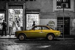 Weinlese Alfa Romeo lizenzfreie stockfotos