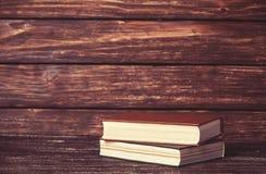Weinlese-alte Bücher Stockfotografie