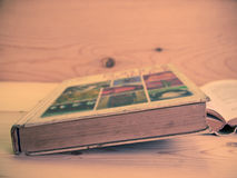 Weinlese, alte Bücher Lizenzfreie Stockfotos