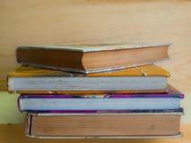 Weinlese, alte Bücher, Stockfoto