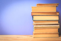 Weinlese-alte Bücher Lizenzfreie Stockbilder