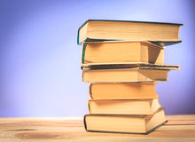 Weinlese-alte Bücher Lizenzfreies Stockfoto