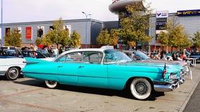 Weinlese-Amerikaner-Autos Stockfotos