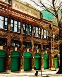 Weinlese-Ansicht von Yawkey-Weise, Boston, MA Stockbild