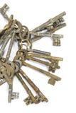 Weinlese-antike Schlüssel Stockbild