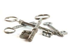 Weinlese-antike Schlüssel Lizenzfreie Stockfotos