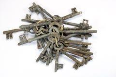 Weinlese-antike Schlüssel Stockfotos
