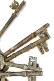 Weinlese-antike Schlüssel Stockbilder